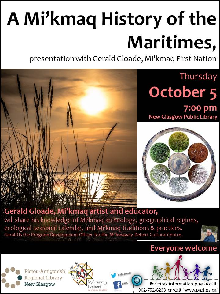 4A Mi'kmaq History of the Maritimes with Gerald Gloade