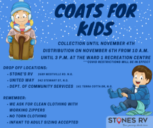 Coats for Kids Pictou County