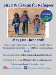 Safe Walk/Run for Refugees @ Online