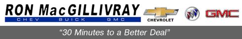 Ron MacGillivray Chevrolet Buick GMC