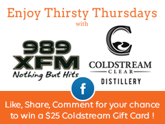 Coldstream: Like, Share, Comment for your chance to win!
